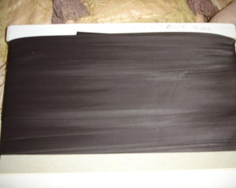 "Vintage Bolt of Dark  Brown 2"" Rayon Binding Approx. 36 Yards"