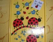 Magnetic Ladybug Bulletin Board
