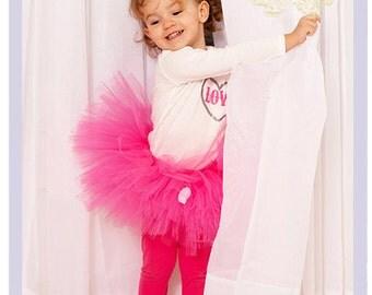 Hot Pink Tutu Dress Hot Pink Toddler Dress Baby Tutu Skirt  2 3 4 Year