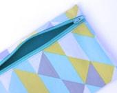 Triangulation Zipper Pouch