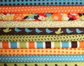 Oh Deer half yard bundle--10 pieces---5 yards total--Momo for Moda Fabrics