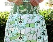 Amy Butler Weekender Travel Bag Sewing Pattern, FREE SHIPPING