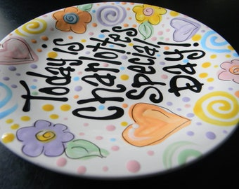 Birthday Plate - It's Your Special Day 12 Inch Ceramic Plate