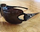 Sunglasses adorned w/ Swarovski Crystals
