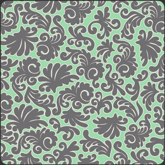 Going Out Of Business Sale Sea Foam Royale, Modern Affair Collection, Art Gallery by Patricia Bravo, LAST FAT QUARTER