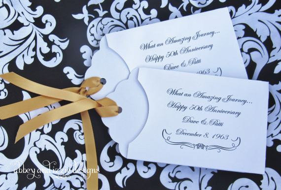 50th Wedding Anniversary Favors Souvenirs Gallery - Wedding ...
