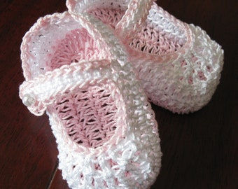 Crochet Newborn Baby Booties Mary Janes Infant Girl Crib Shoes Crochet Baptismal Baby Booties Christening Crib Shoes Knit Reborn Doll Shoes