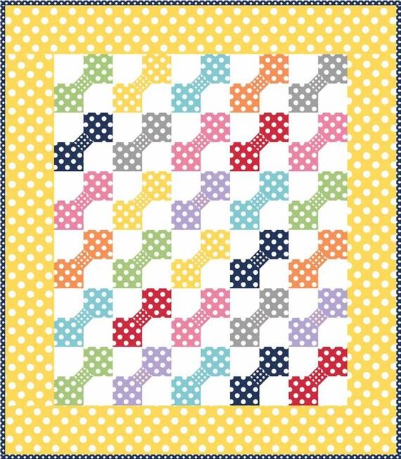 Polka Dot Patch by Riley Blake Designs Quilt Kit
