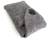 Herringbone iPhone 5c Case Handmade Vintage Wool iSockit