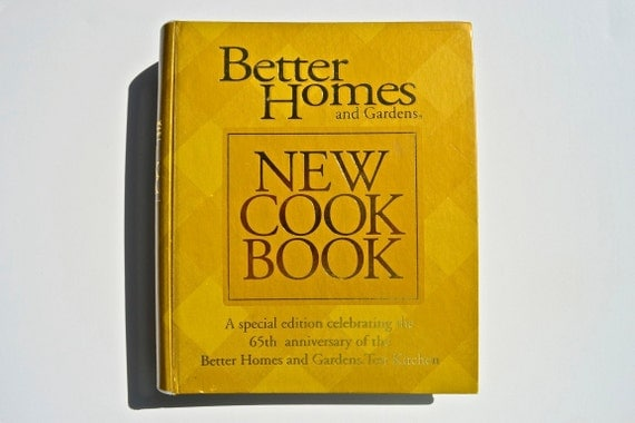 65th Anniversary Better Homes and Gardens New Cook Book (1989)