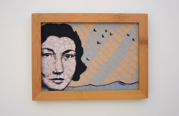 framed portrait print 5x7