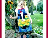Girls custom boutique Fall down at the FArm Cow pillow case dress 4 5 6 7 8 10
