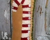 Christmas Candy Cane Pillow