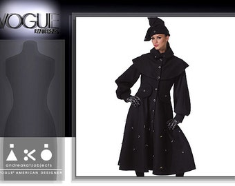Vogue 1148 Andreakatzobjects Coat Pattern Size 6-12