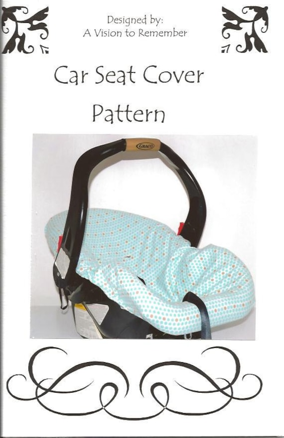 PATTERN, Car Seat Cover, Inside, Universal, Slip Cover, Recovering