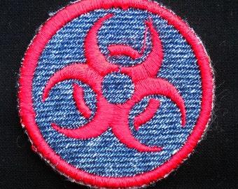 Biohazard Iron-on Patch / Merit Badge