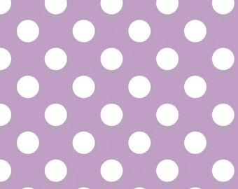 Riley Blake Designs, Medium Dots in Lavender (C360 120)