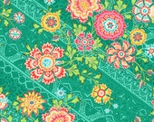Heirloom/Jade by Amy Butler - Lark Collection - One Half Yard