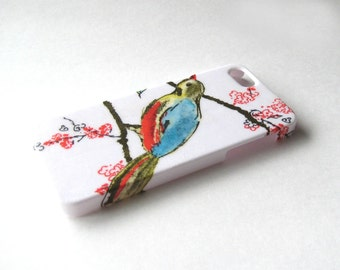 A Bird on Branch iPhone 3, 4/4S, 5/5S/SE, 5C, 6 or iPod Touch Case - Back Cover