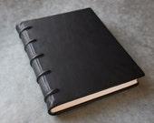 Leather Sketchbook or Journal - 8x10 - Cordbound