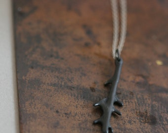 Clava Necklace - Sterling Silver