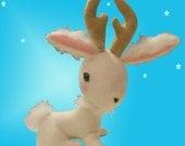 Jackalope Plush Art Toy