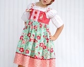 Turquoise Daphne Dress - Size6mos-4