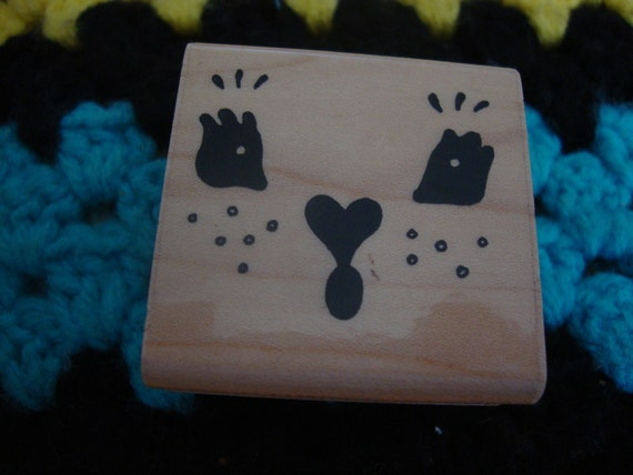FACE Rubber Stamp
