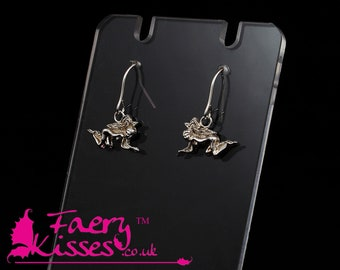 Silver Fairy Earrings - Beryl - Original Kisses Collection - Exclusively designed by Faery Kisses