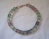 Vintage Fluorite Bracelet