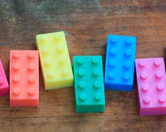 7 Toy Block Soaps