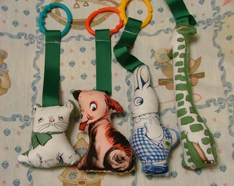 Soft Animal Infant  Toy Set