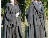 Gorgeous Wool Full Circle Great Cloak with Choice of Color SCA Pagan Larp Renaissance Faire