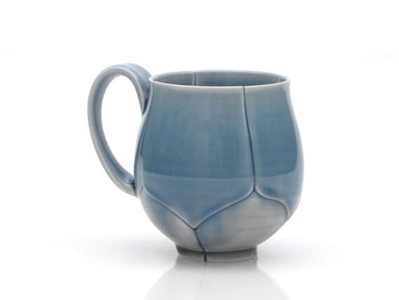 Blue Lotus Coffee Mug or Tea Cup