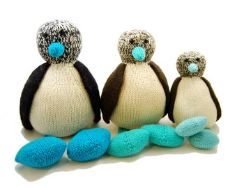 Bob the Blue Footed Booby Knitting Pattern Pdf INSTANT DOWNLOAD