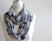 White Noise Infinity Scarf