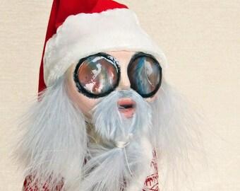 Santa Claus - Christmas Art Doll