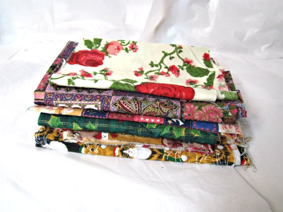 Supply Cotton Fabric Variety Fabric Remnants