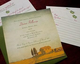 """Tuscan Party Invitation - """"Tuscany"""""""