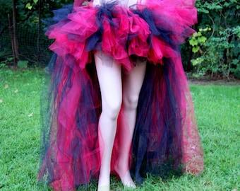 Red Black Goth Vampire Trashy Formal Bustle TuTu Adult All Sizes MTCoffinz