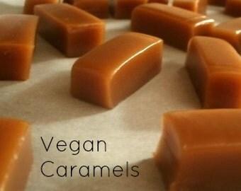 Vegan Caramels - Organic - Vegan - Dairy Free - One Pound