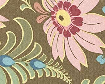 Amy Butler Ginger Bliss Sun Dahlia Curry | Cotton Quilting fabric