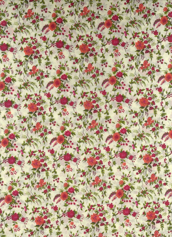 Liberty of London fabric tana lawn Floribunda 6x27