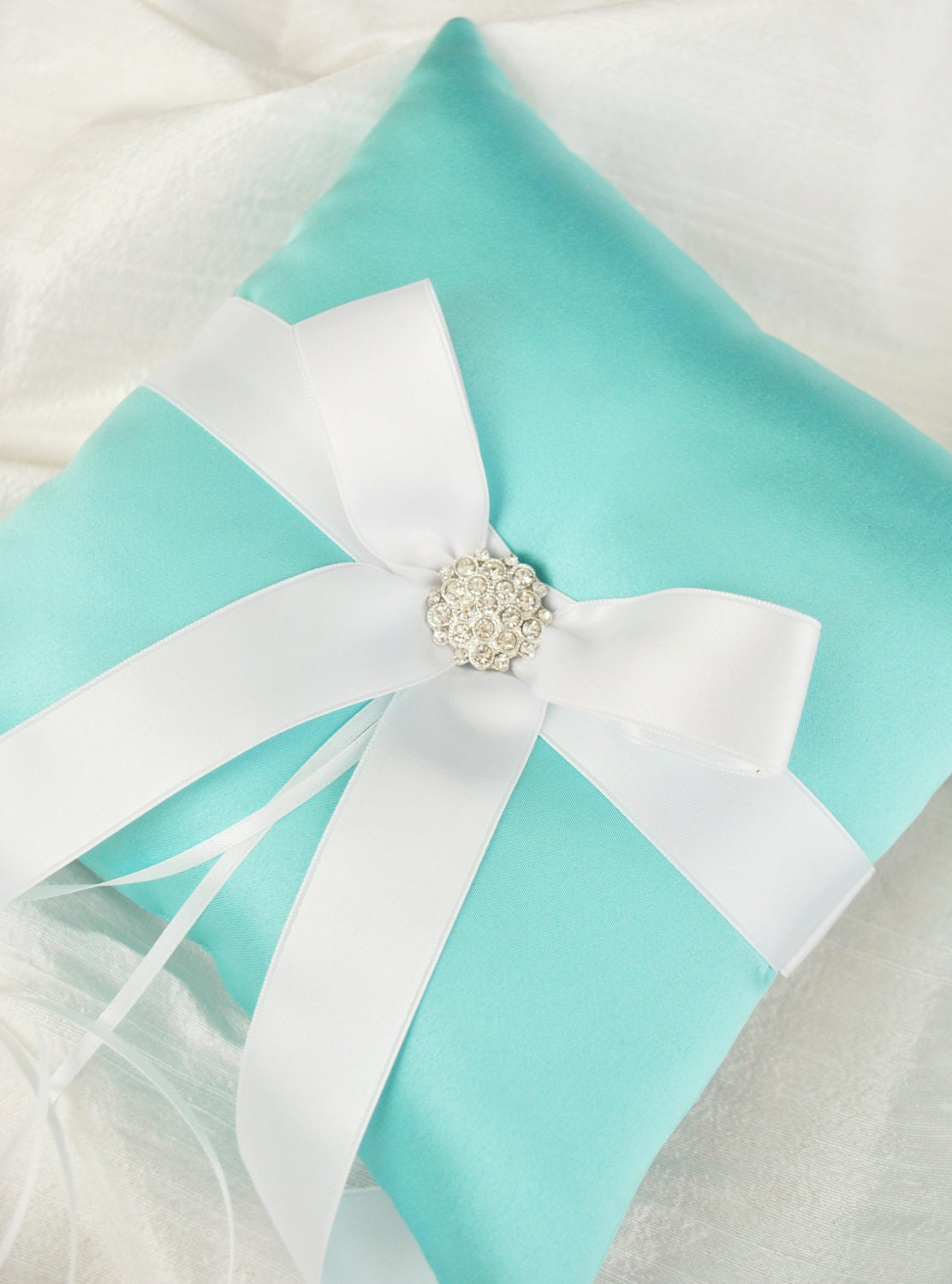 The Most Beautiful Wedding Rings Tiffany Blue Wedding Ring Pillow