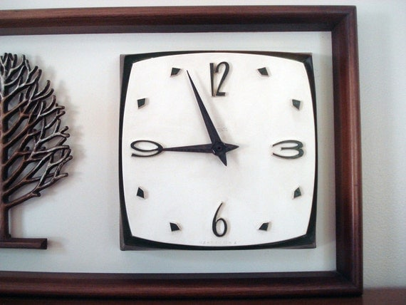 Exquisite Syroco Four Seasons wall clock