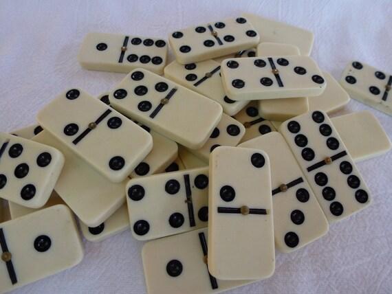 Vintage Set of Dominoes