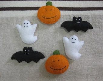 Felt Halloween ornament