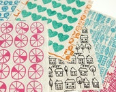 handprinted scrap bundle