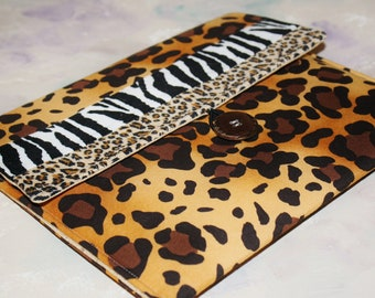 iPad Envelope Case, Funky Ipad Case, Ipad Sleeve, Ipad air case, holder Ipad Pro Case, Tablet  Case, Apple Accessories in Animal Instincts