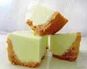Julie's Fudge - KEY LIME PIE w/Graham Cracker Crust - 6 Pieces (Over 1/2 Pound)